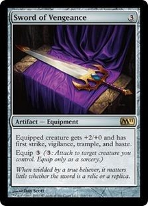 Magic the Gathering Magic 2011 (M11) Single Card Rare #216 Sword of Vengeance