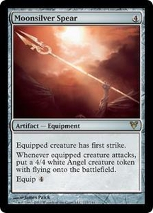 Magic the Gathering Avacyn Restored Single Card Artifact Rare #217 Moonsilver Spear