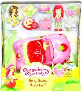 Strawberry Shortcake Hasbro Vehicle Berry Sweet Roadster [With Doll]