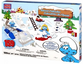 The Smurfs Mega Bloks Set #10716 Smurfs Advent Calendar