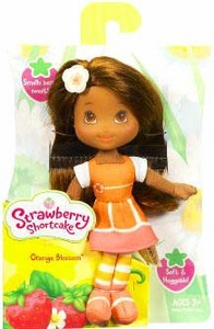 Strawberry Shortcake Hasbro Mini Soft Doll Orange Blossom