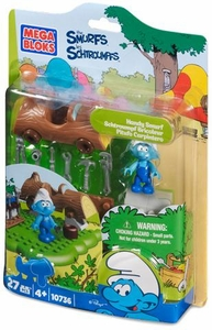 The Smurfs Mega Bloks Set #10736 Handy Smurf
