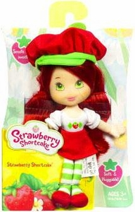Strawberry Shortcake Hasbro Mini Soft Doll Strawberry Shortcake