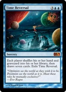 Magic the Gathering Magic 2011 (M11) Single Card Mythic Rare #75 Time Reversal