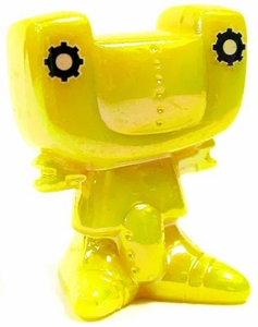 Crazy Bones Gogo's Series 3: Explorer LOOSE Single Figure #9 Spectrum Zhip