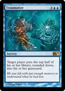 Magic the Gathering Magic 2011 (M11) Single Card Rare #77 Traumatize