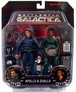Battlestar Galactica Diamond Select Action Figure 2-Pack Apollo & Dualla