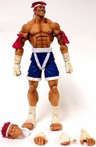 Sota Toys Street Fighter Series 3 Action Figures LOOSE Adon [White Trim]