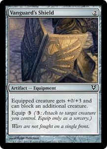 Magic the Gathering Avacyn Restored Single Card Artifact Common #223 Vanguard's Shield