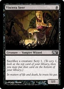 Magic the Gathering Magic 2011 (M11) Single Card Common #120 Viscera Seer