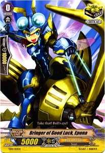 Cardfight Vanguard ENGLISH Blaster Blade Trial Deck Single Card Fixed TD01-013 Transporter of Good Luck, Epona
