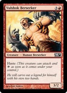 Magic the Gathering Magic 2011 (M11) Single Card Common #159 Vulshok Berserker