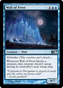 Magic the Gathering Magic 2011 (M11) Single Card Uncommon #79 Wall of Frost