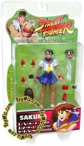 Sota Toys Street Fighter Series 3 Action Figures Sakura