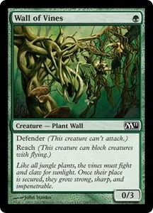Magic the Gathering Magic 2011 (M11) Single Card Common #199 Wall of Vines