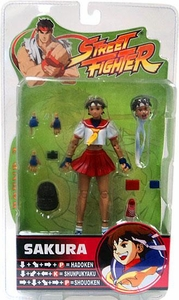 Sota Toys Street Fighter Series 3 Action Figures Sakura [Red Skirt Variant]