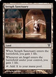 Magic the Gathering Avacyn Restored Single Card Land Common #228 Seraph Sanctuary