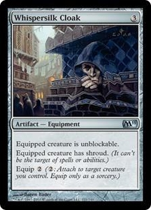 Magic the Gathering Magic 2011 (M11) Single Card Uncommon #221 Whispersilk Cloak