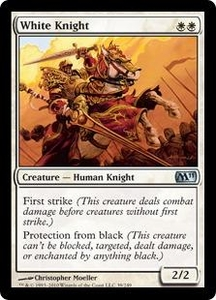 Magic the Gathering Magic 2011 (M11) Single Card Uncommon #39 White Knight