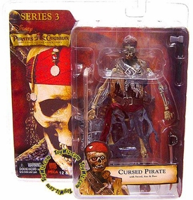 NECA Pirates of the Caribbean Curse of the Black Pearl Series 3 Action Figure Cursed Pirate
