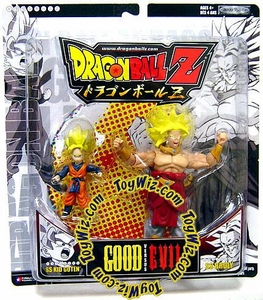 Dragonball Z Good vs. Evil Action Figure 2-Pack Super Saiyan SS Kid Goten vs. SS Broly