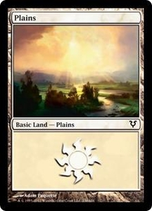 Magic the Gathering Avacyn Restored Single Card Land Land #230 Plains