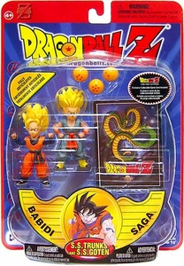 Dragon Ball Z Series 8 Babidi Saga Action Figure SS Trunks & SS Goten