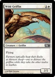 Magic the Gathering Magic 2011 (M11) Single Card Common #40 Wild Griffin