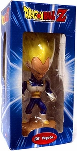 Dragon Ball Z Bobble Head Series 1 SS Vegeta Damaged Package, Mint Contents!
