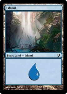 Magic the Gathering Avacyn Restored Single Card Land Land #233 Island