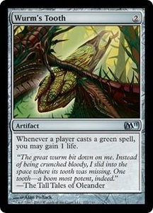 Magic the Gathering Magic 2011 (M11) Single Card Uncommon #222 Wurm's Tooth