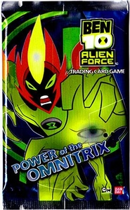 Ben 10 Alien Force Trading Card Game Series 2 Power of the Omnitrix Booster Pack