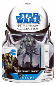 Star Wars 2008 Legacy Collection Saga Legends Action Figure SL No. 10 Super Battle Droid