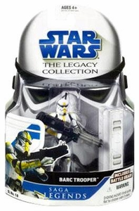 Star Wars 2008 Legacy Collection Saga Legends Action Figure SL No. 18 BARC Trooper