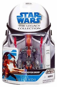 Star Wars 2008 Legacy Collection Saga Legends Action Figure SL No. 11 Destroyer Droid