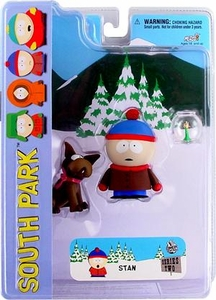 Mezco Toyz South Park Series 2 Action Figure Stan with Sparky BLOWOUT SALE!