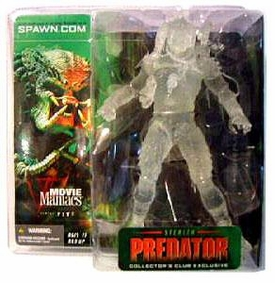 McFarlane Toys Club Exclusive Action Figure Stealth Predator Very Rare!