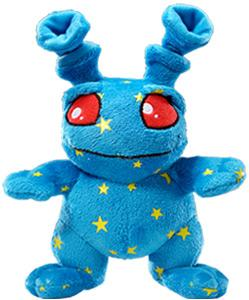 Neopets Collector Species Series 1 Plush with Keyquest Code Starry Grundo