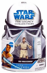 Star Wars 2008 Legacy Collection Saga Legends Action Figure SL No. 04 Obi-Wan Kenobi