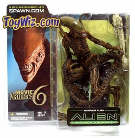 McFarlane Toys Movie Maniacs Series 6 Alien and Predator Action Figure Warrior Alien