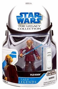 Star Wars 2008 Legacy Collection Saga Legends Action Figure SL No. 09 Plo Koon