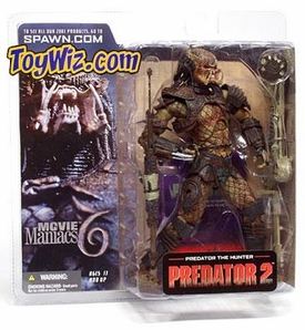 McFarlane Toys Movie Maniacs Series 6 Alien and Predator 2 Action Figure Predator the Hunter