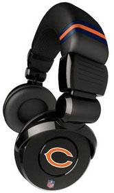 iHip NFL Football Sports Pro DJ Chicago Bears LOGO Headphones