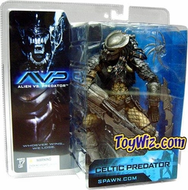 McFarlane Toys Alien VS. Predator Movie Action Figure Celtic Predator