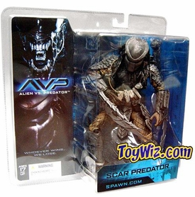 McFarlane Toys Alien VS. Predator Movie Action Figure Scar Predator