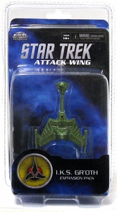 Star Trek Attack Wing I.K.S. Gr'oth Expansion Pack