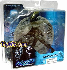 McFarlane Toys Alien VS. Predator Movie Action Figure Grid Alien