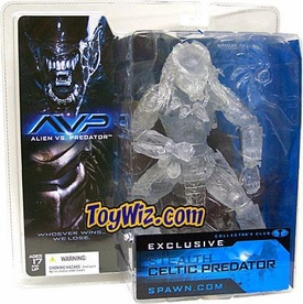 McFarlane Toys Club Exclusive Action Figure Celtic Stealth Predator