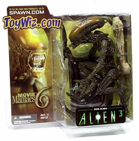 McFarlane Toys Movie Maniacs Series 6 Alien and Predator Action Figure Dog Alien