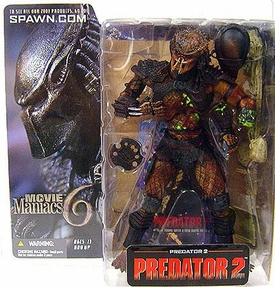 McFarlane Toys Alien and Predator Movie Maniacs 6 Action Figure Predator 2
